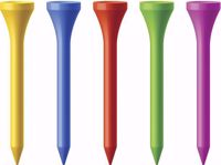 Multicolor Golf Tees