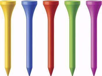 Multicolor Golf Tees